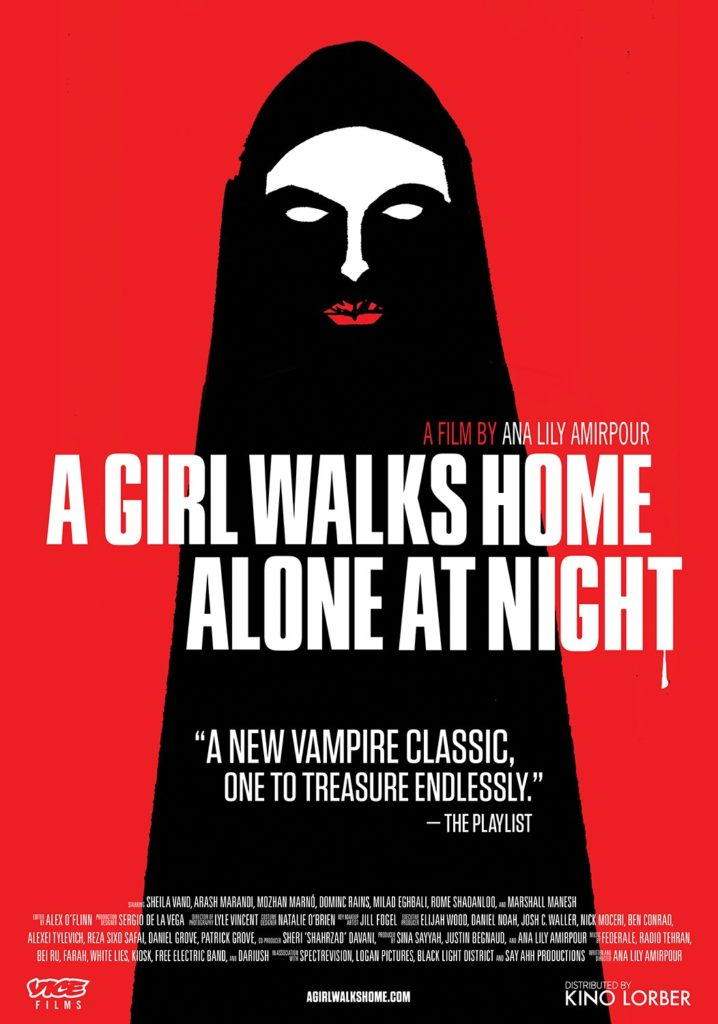 """A poster for """"A Girl Walks Home Alone At Night"""""""