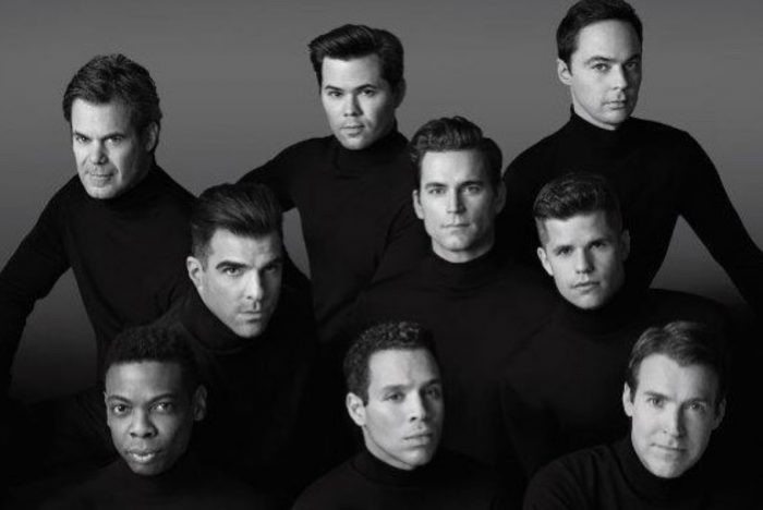 The incredibly handsome ensemble cast of The Boys in the Band