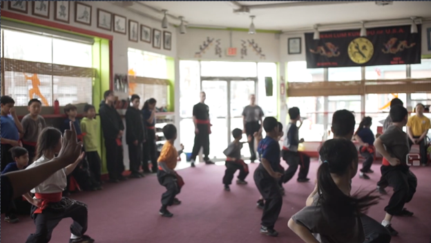 Kung Fu Chit - class - Incluvie Film Festival