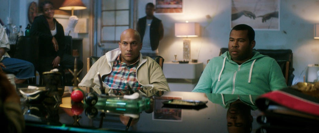 Key and Peele as Rell and Clarence in Keanu