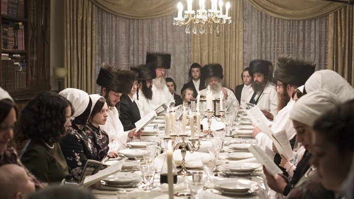 Traditional Orthodox Passover Dinner