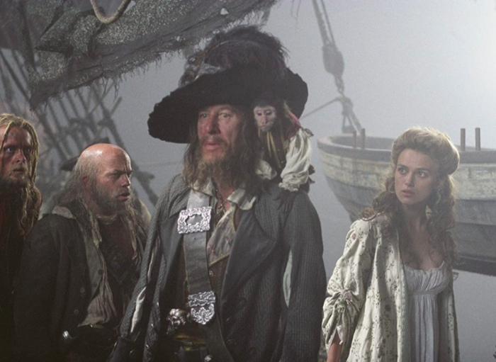 A screen grab from Pirates of the Carribean