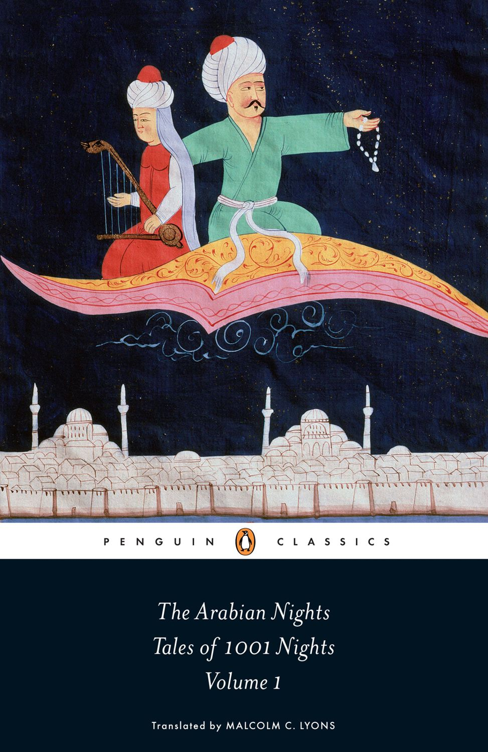 The cover of Penguin Classic's edition of 1,001 Nights