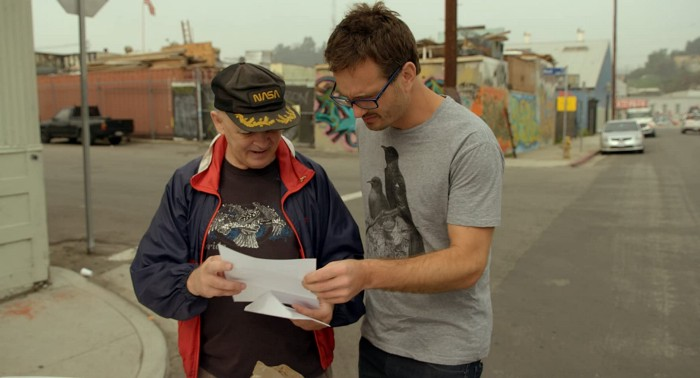 """Documentarian David Farrier talks with a former """"tickle recruiter,"""" which is a job people have"""