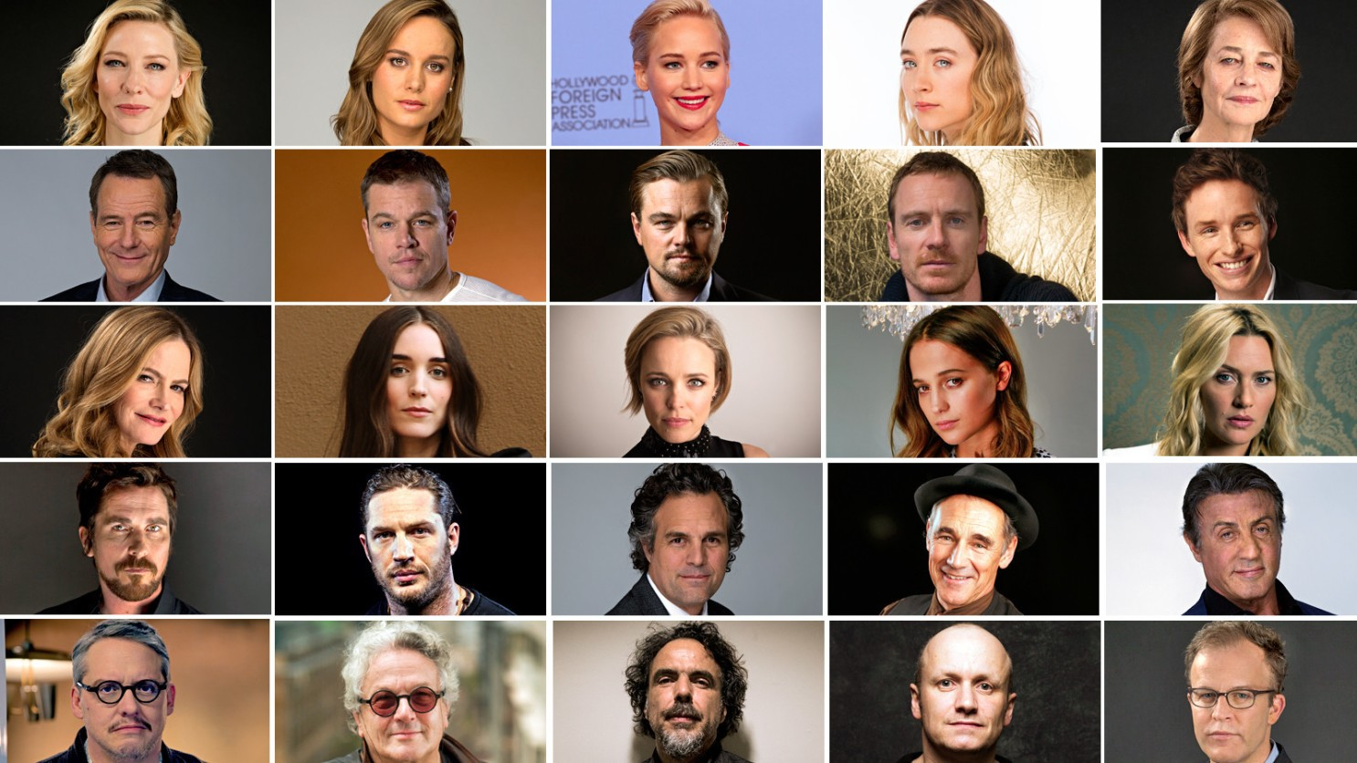It's hard not to see why many were upset--these were the nominees at the 2016 Oscars. Yikes.
