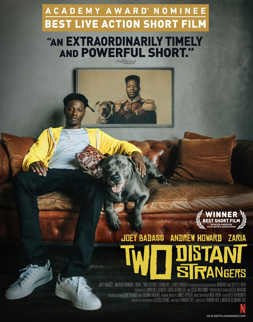 Alternative poster, showing Carter with his dog, Jeter.