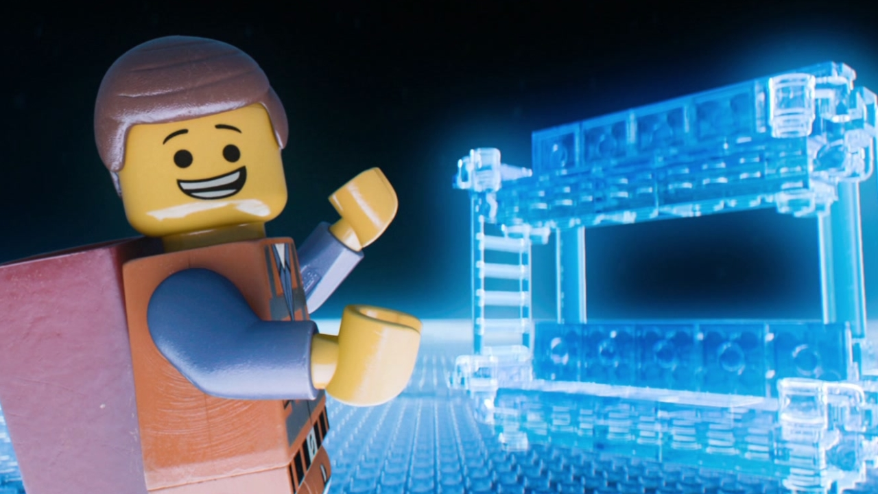Emmet the protagonist and his double decker couch