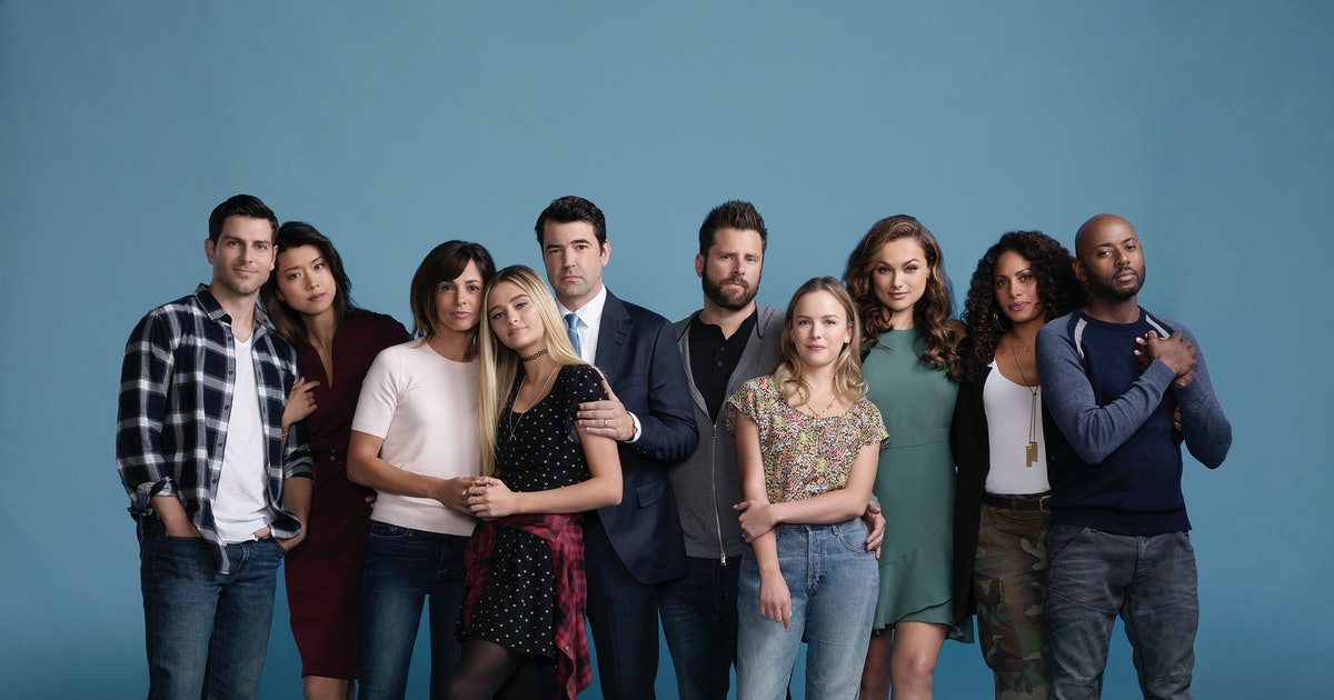 Image of the cast of A Million Little Things