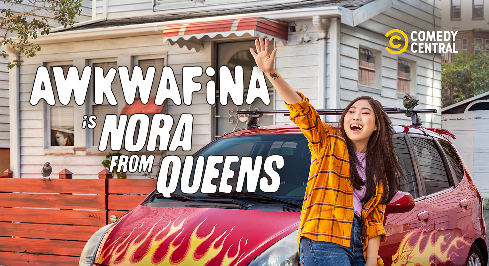"""Cover image of the tv series """"Awkwafina is Nora from Queens"""""""