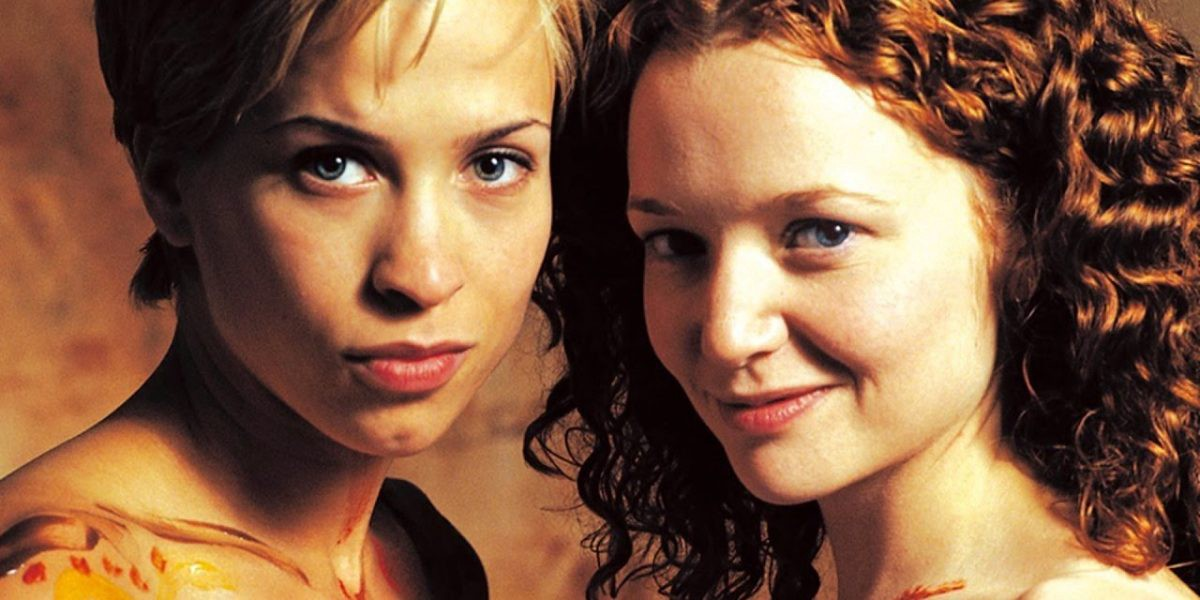 Kim and Maggie smile at the camera in a promotional image for Better than Chocolate