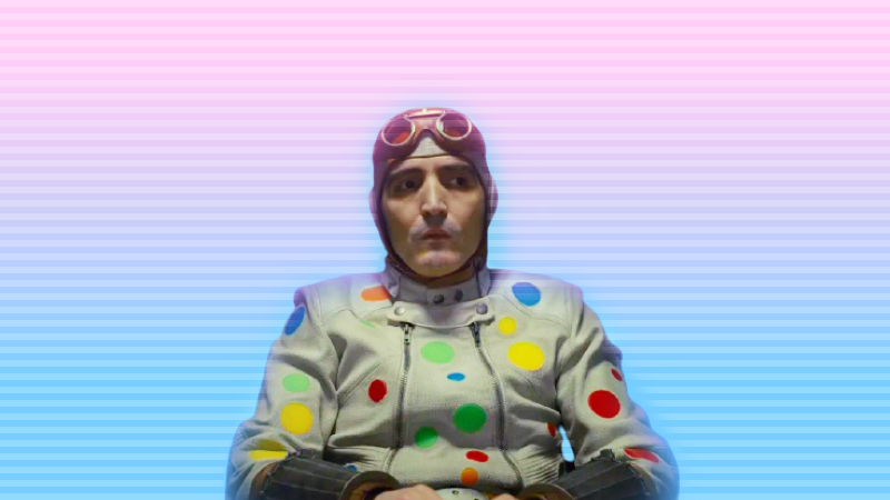 Polka-Dot Man The Suicide Squad during Mission Brief