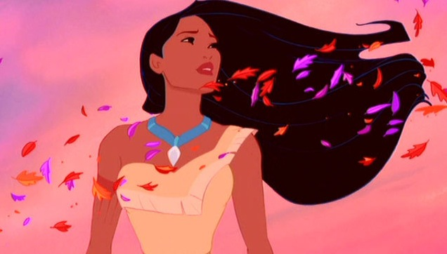 Pocahontas and the colors of the wind