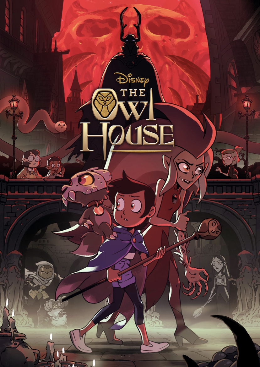 A promotional poster for 'The Owl House'.