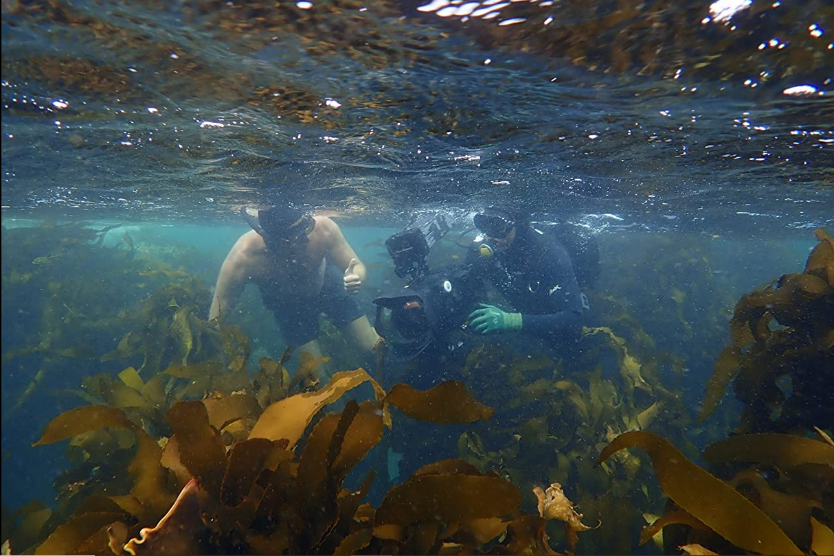 A behind the scenes look at the underwater camera.