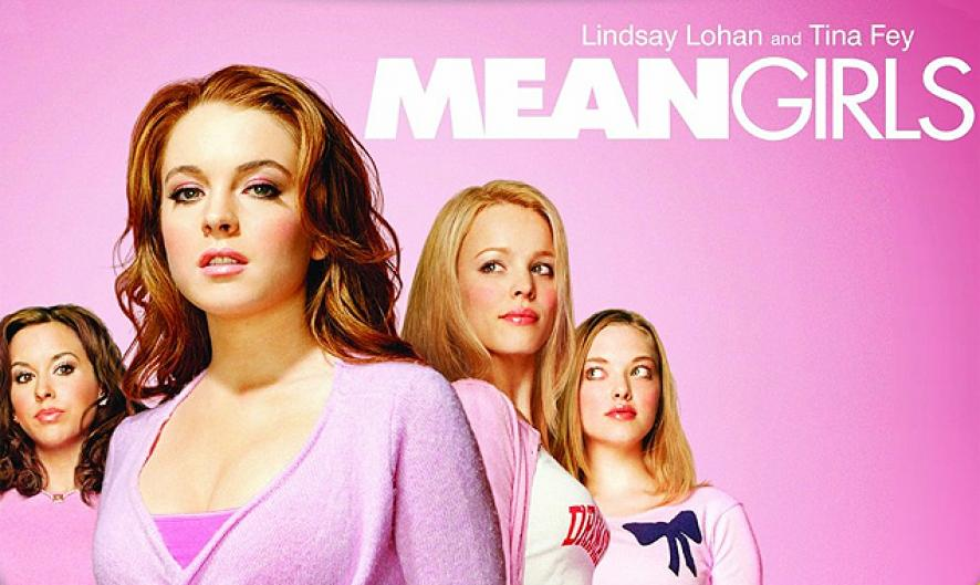 This image consists of the four members of the Plastics, as an icon for Mean Girls