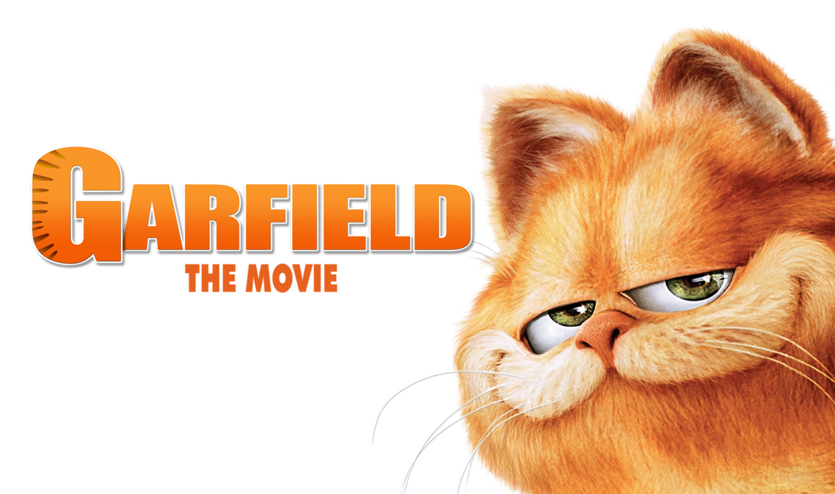 """A promotional image of Garfield for """"Garfield: The Movie"""""""