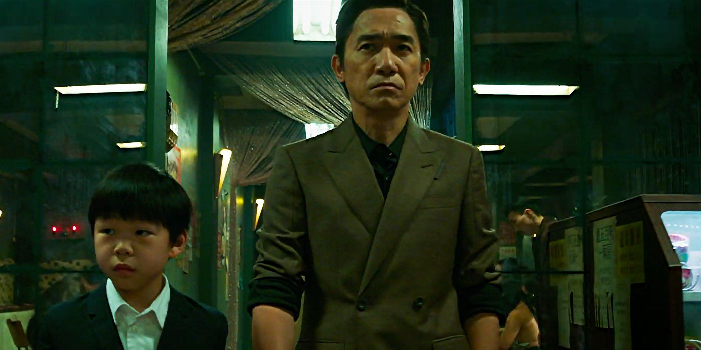 Shang-Chi and Father Wenwu The Mandarin